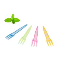 Plastic French Fry Forks, Snack Forks