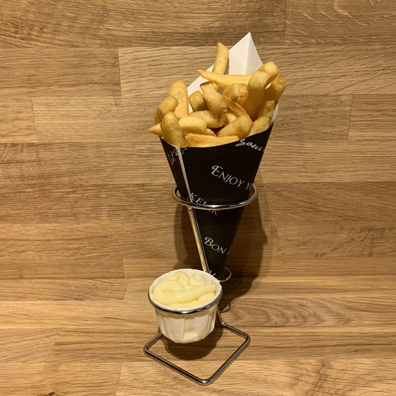 Fry cone holder small for Fries with mayonaise